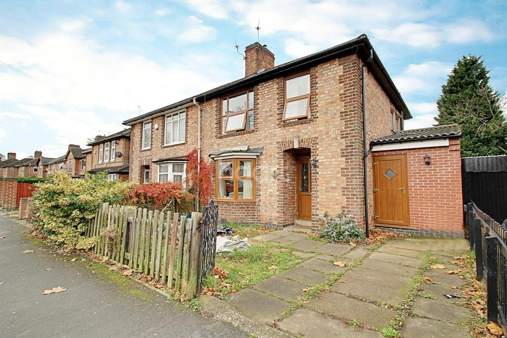 3 Bedrooms Semi Detached House for sale in Peveral Road, Braunstone, Leicester
