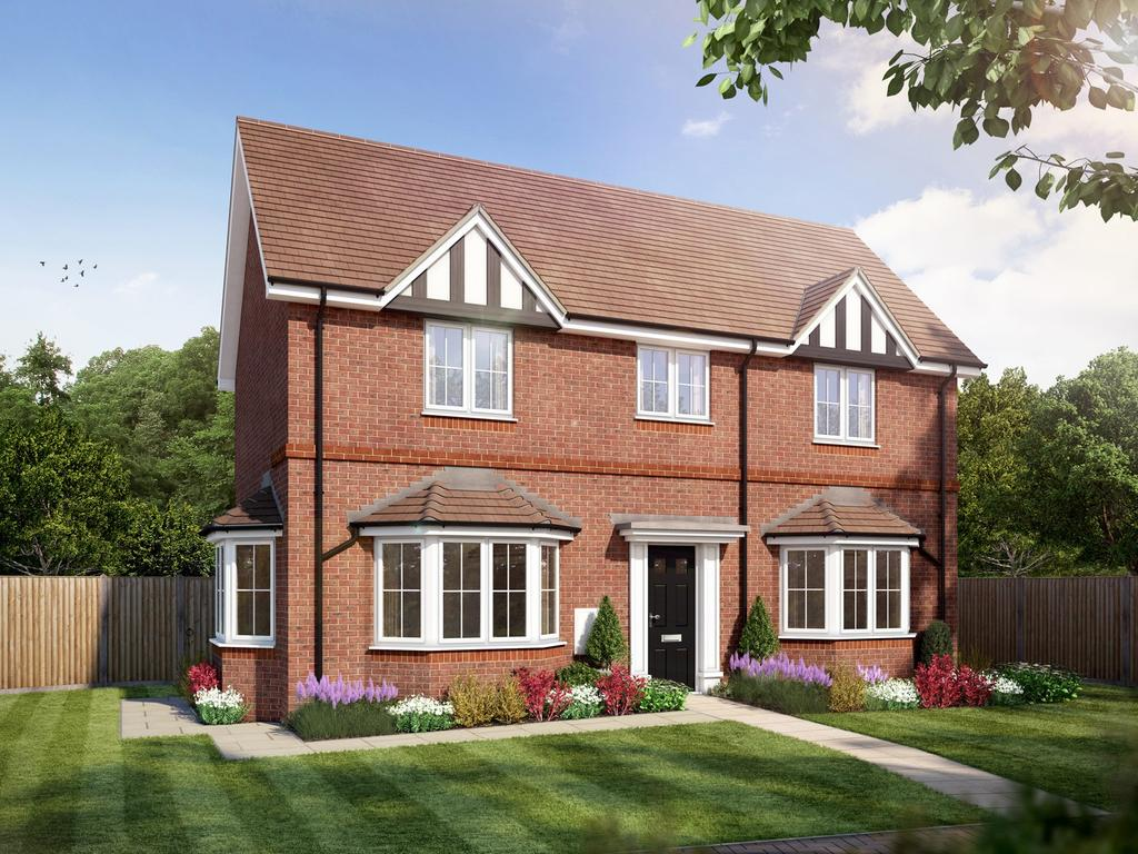 3 Bedrooms Detached House for sale in Amlets Place, Amlets Lane, Cranleigh, GU6