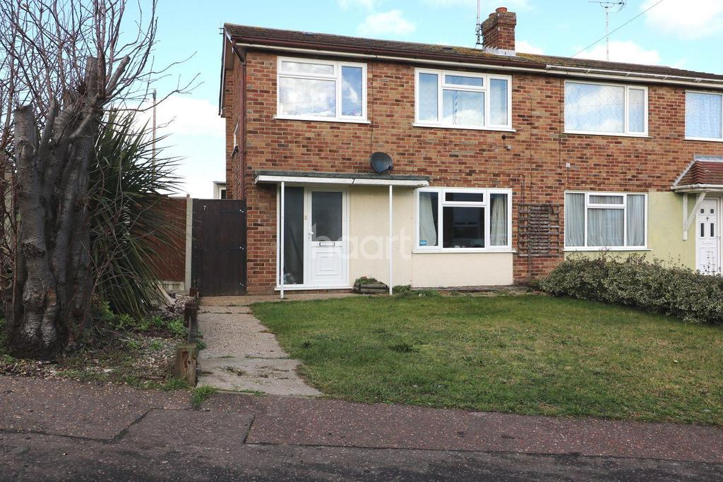 3 Bedrooms Semi Detached House for sale in Deepdale Road, Dovercourt, Harwich, Essex