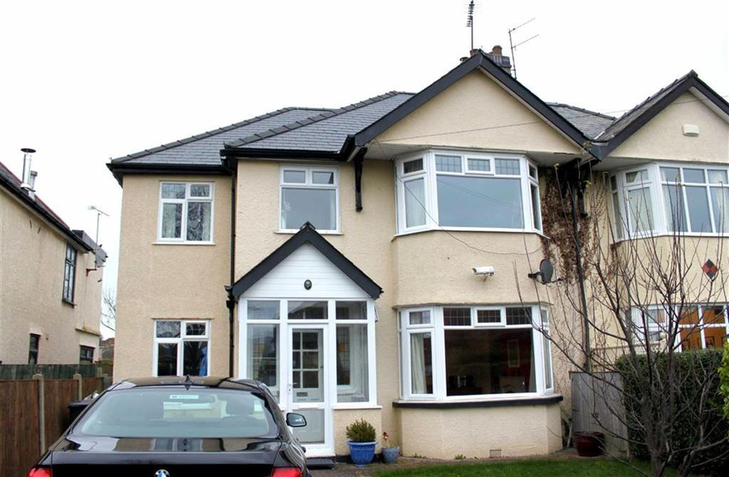 4 Bedrooms Semi Detached House for sale in Park Drive, Deganwy, Conwy, Gwynedd