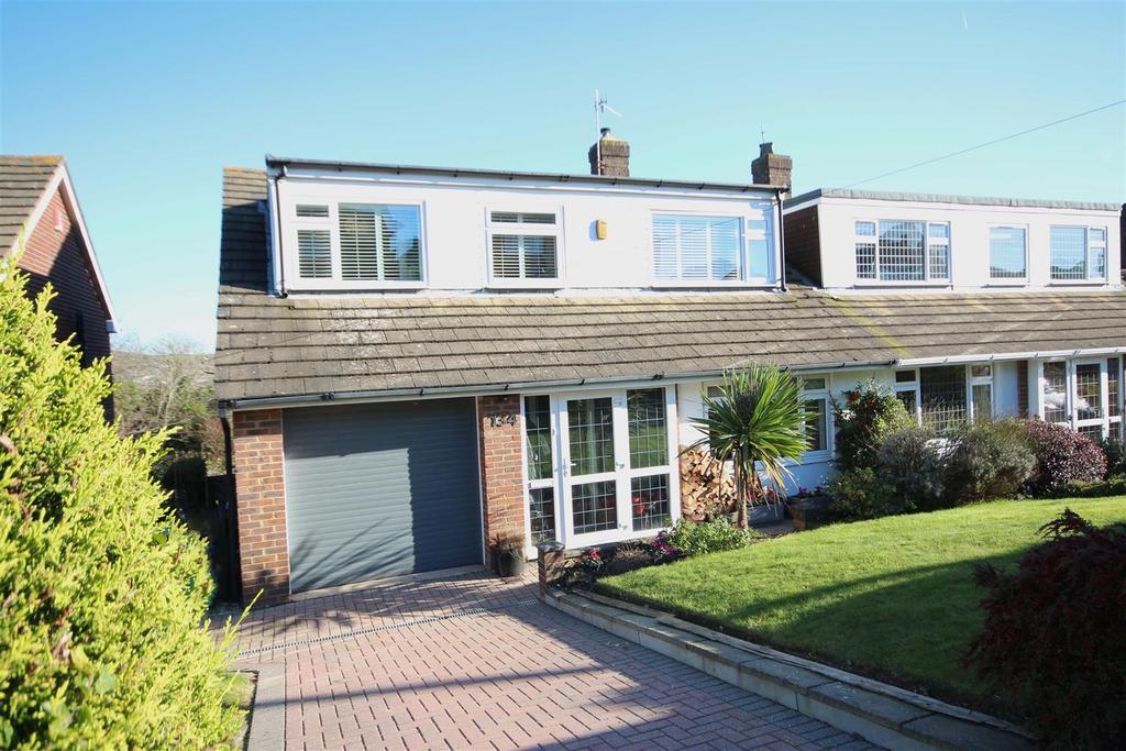 4 Bedrooms Semi Detached House for sale in Eldred Avenue, Westdene, Brighton