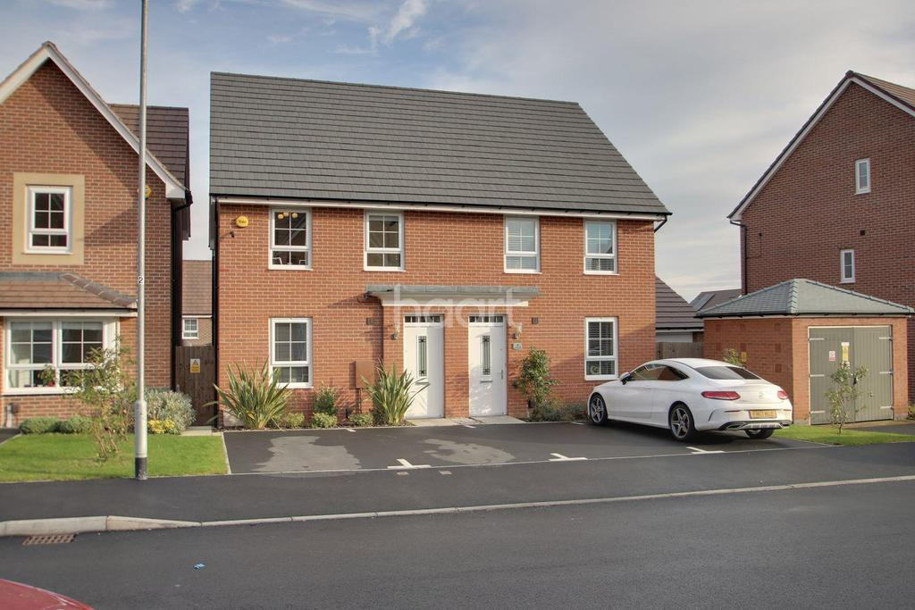 3 Bedrooms Semi Detached House for sale in Paulina Avenue, Hucknall