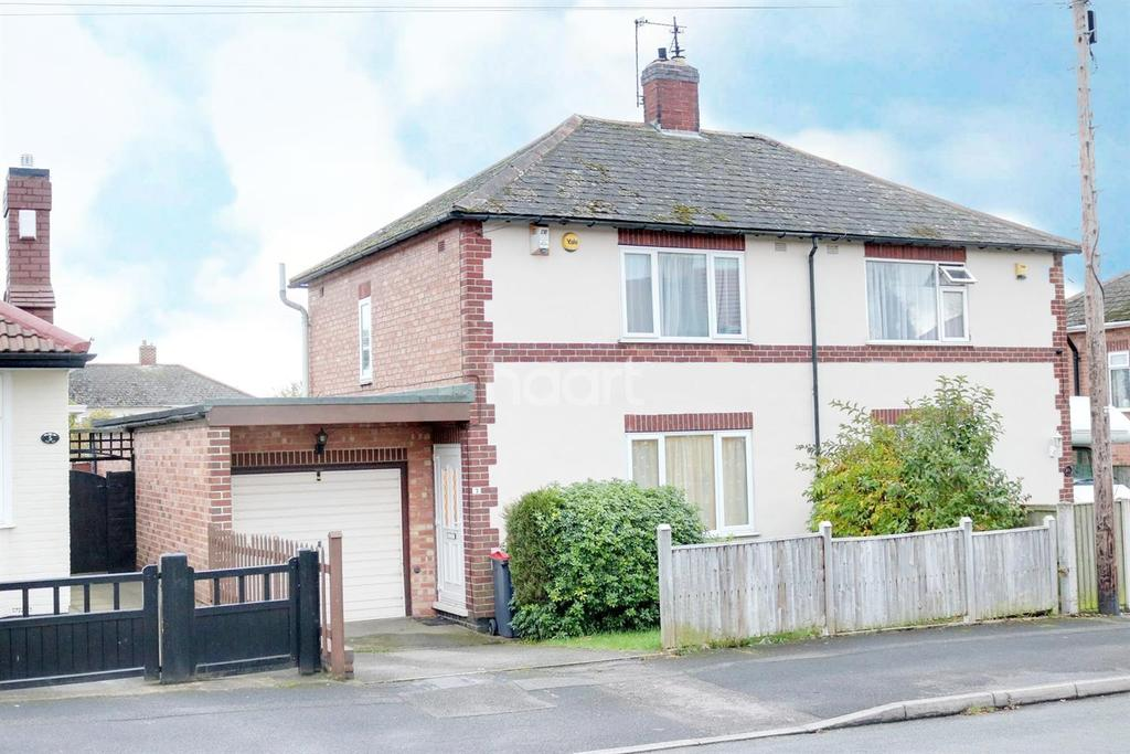 2 Bedrooms Semi Detached House for sale in Springfield Road, Hucknall