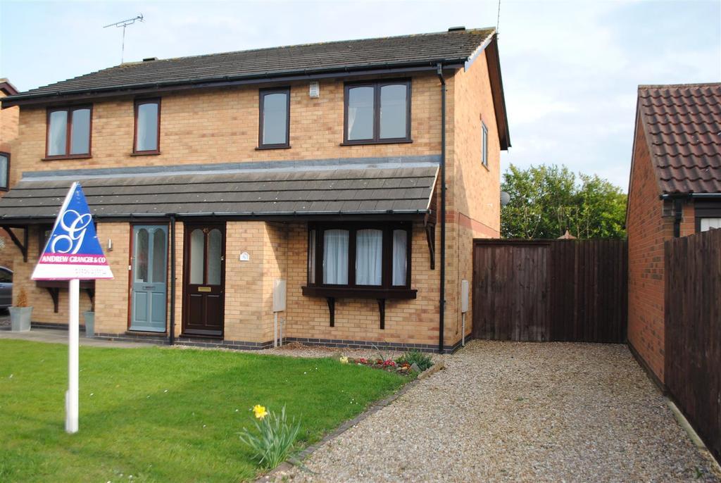 3 Bedrooms Semi Detached House for sale in Carisbrooke Road, Mountsorrel