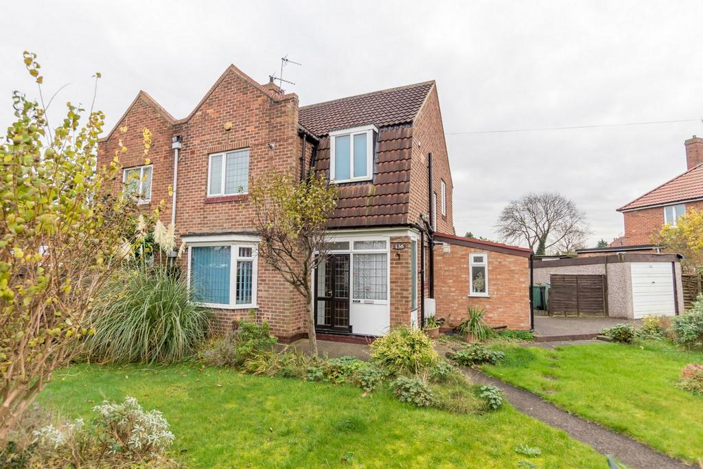 3 Bedrooms Semi Detached House for sale in Jute Road, Acomb, YORK