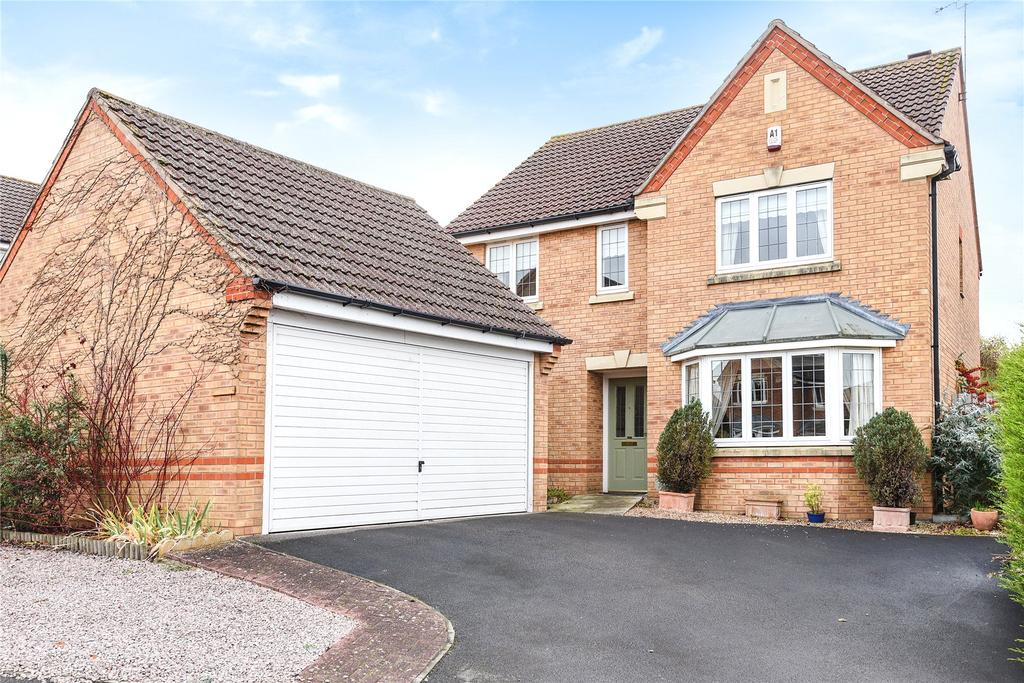 4 Bedrooms Detached House for sale in Sheldrake Road, Sleaford, NG34