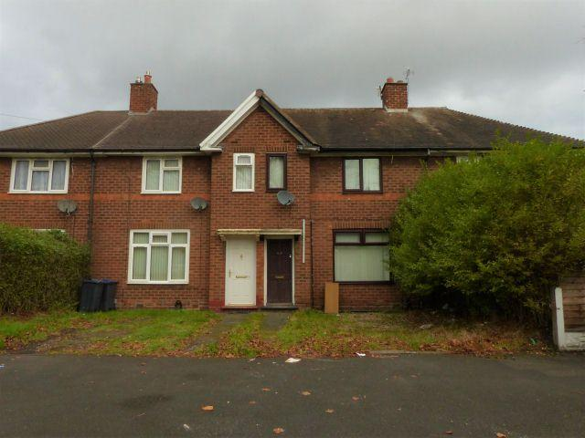 3 Bedrooms Terraced House for sale in Chipstead Road,Erdington,Birmingham
