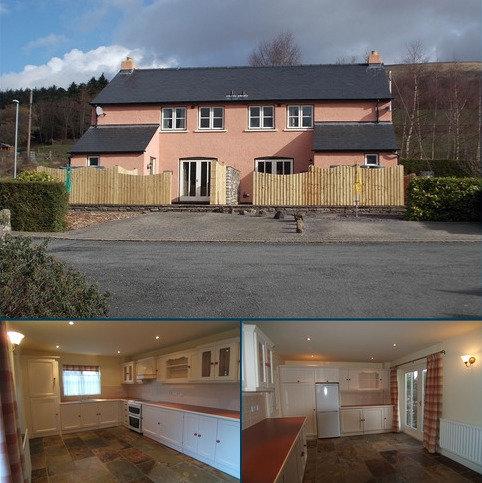 2 bedroom semi-detached house to rent - Tretower, Crickhowell, Powys.