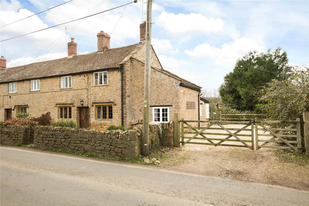 2 Bedrooms End Of Terrace House for sale in Nut Tree Cottages, North Perrott, Crewkerne, Somerset