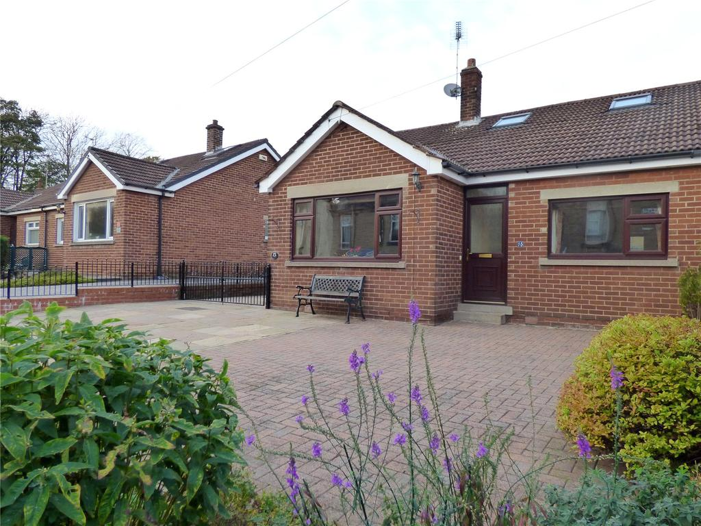 2 Bedrooms Semi Detached Bungalow for sale in Armitage Road, Oakenshaw, Bradford, BD12