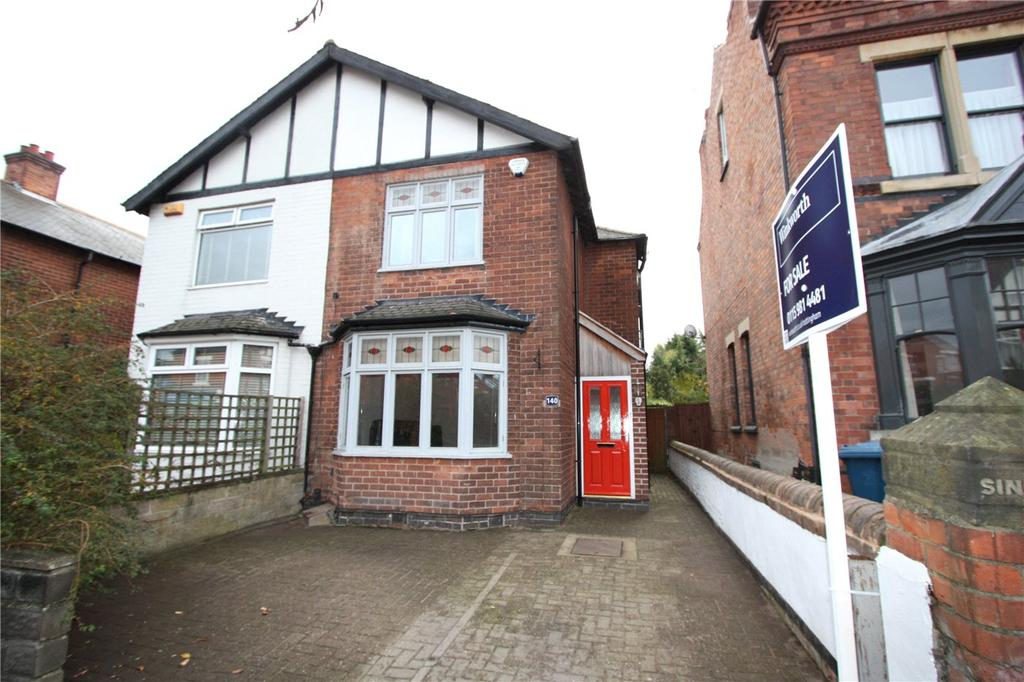 3 Bedrooms Semi Detached House for sale in Trent Boulevard, Lady Bay, Nottingham, NG2