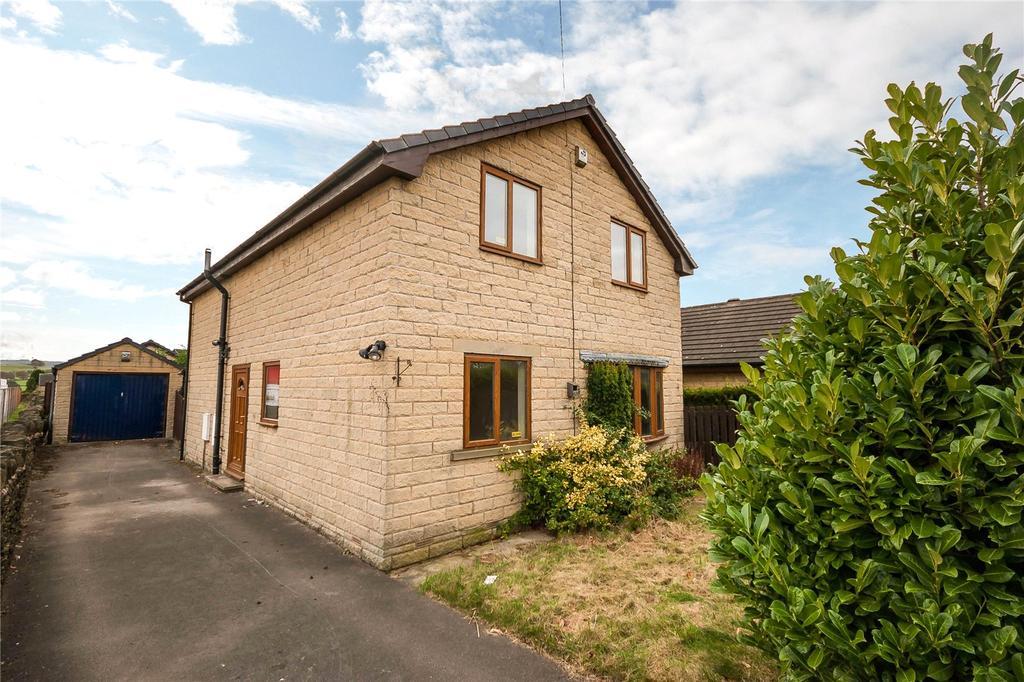 3 Bedrooms Detached House for sale in Burton Acres Lane, Kirkburton, Huddersfield, West Yorkshire, HD8