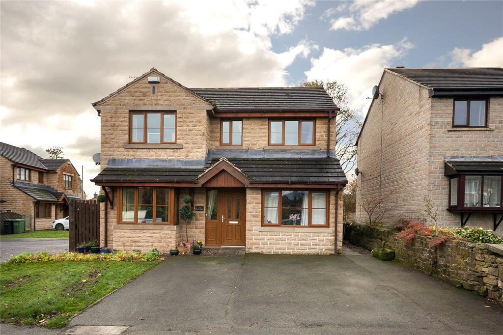 4 Bedrooms Detached House for sale in The Orchard, Golcar, Huddersfield, West Yorkshire, HD7
