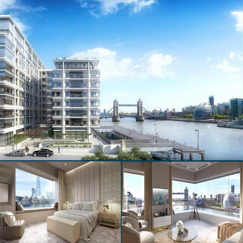 1 bedroom flat for sale - Landmark Place At Tower Bridge, Water Lane, London, EC3R