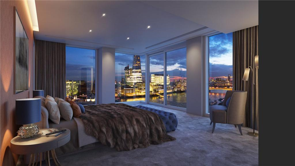2 Bedrooms Penthouse Flat for sale in Landmark Place At Tower Bridge, Water Lane, London, EC3R