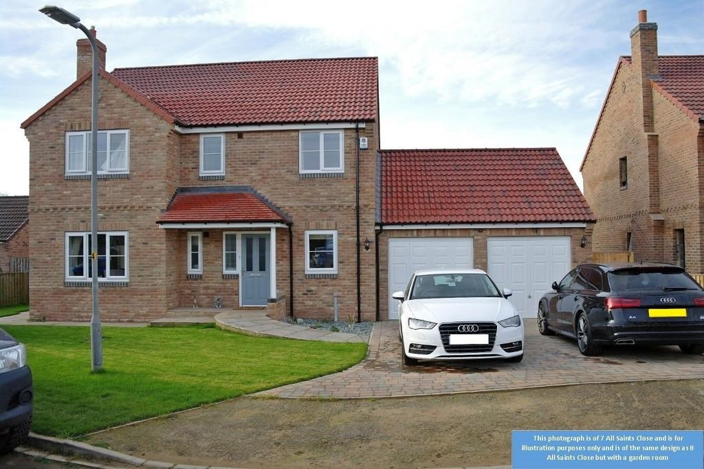 4 Bedrooms Detached House for sale in Kirby Hill, Boroughbridge