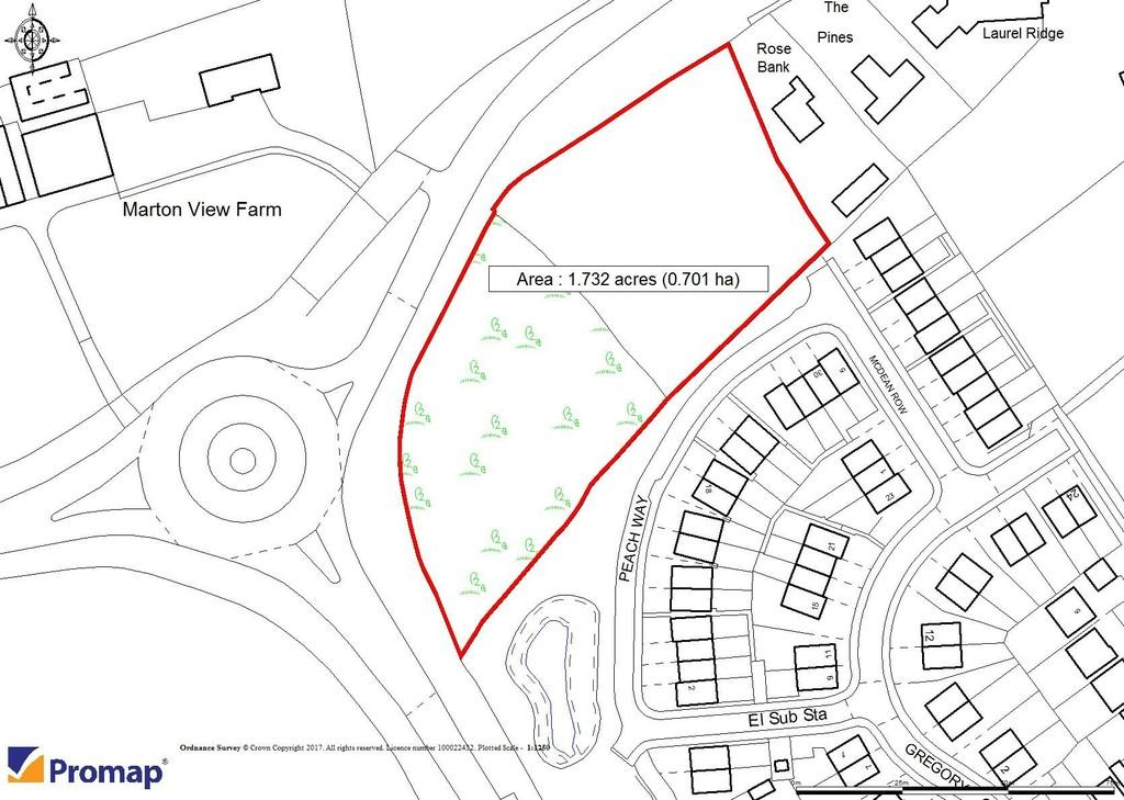 Land Commercial for sale in Land At Chester Lane, Winsford, CW7 2GY
