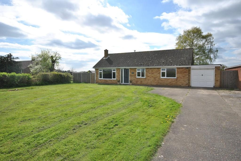 3 Bedrooms Detached Bungalow for sale in Aslacton, Norfolk