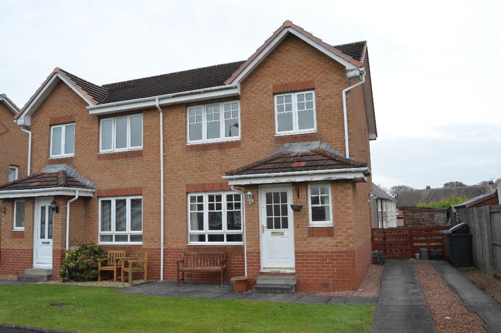 3 Bedrooms Semi Detached House for sale in Halket Crescent, Carronshore, Falkirk, FK2 8FB