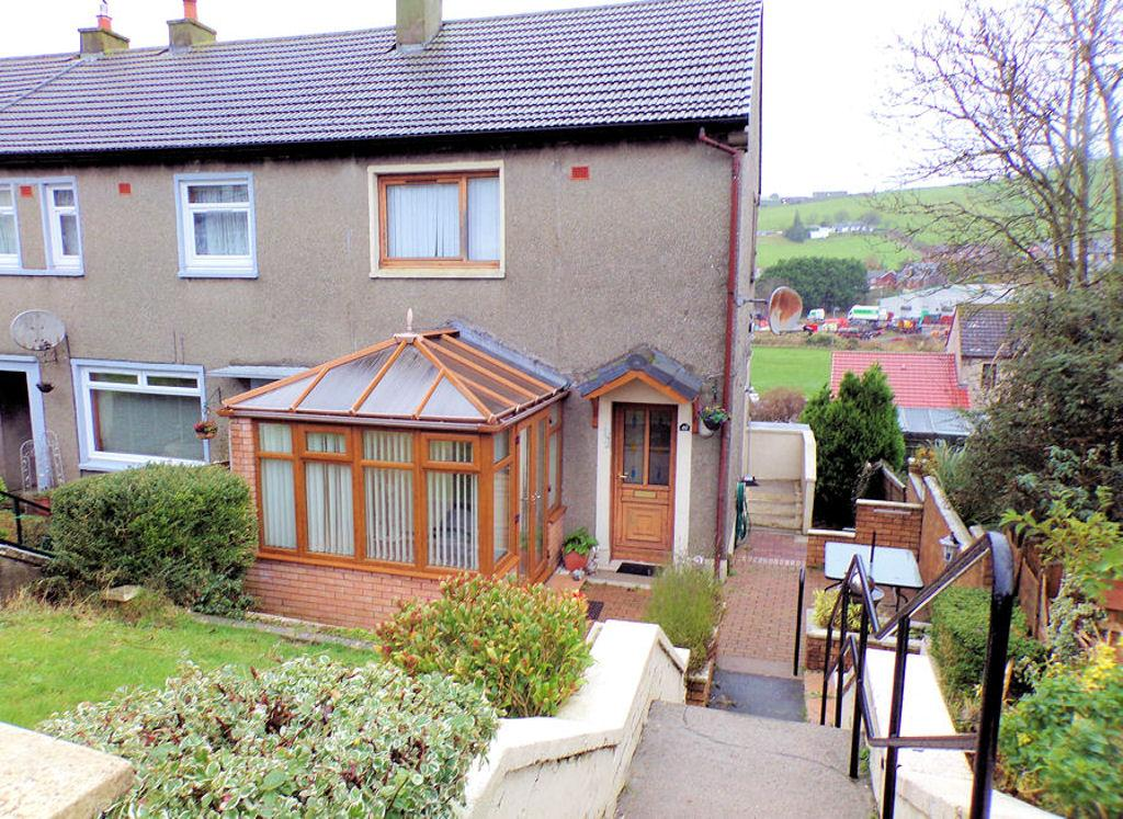 2 Bedrooms Terraced House for sale in 40, Davaar Avenue, Campbeltown