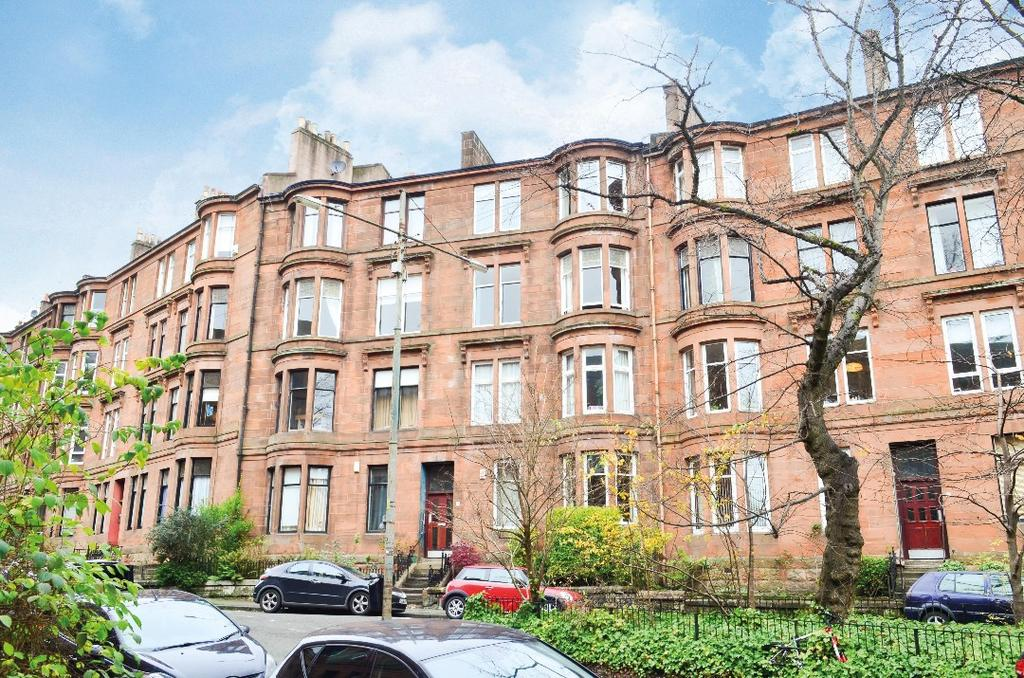 2 Bedrooms Flat for sale in Caird Drive, Flat 3/1, Partickhill, Glasgow, G11 5DS