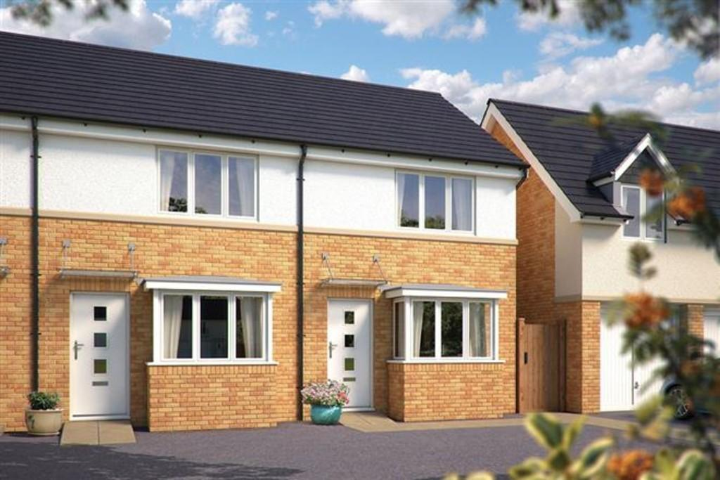 2 Bedrooms Semi Detached House for sale in The Sherston, Turnstone Rise