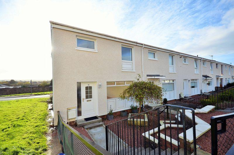 3 Bedrooms End Of Terrace House for sale in 20 Mackintosh Place ,Kilmarnock , KA3 7NG