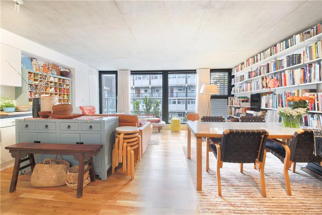 2 Bedrooms Flat for sale in Micawber Wharf, 17 Micawber Street, London, N1