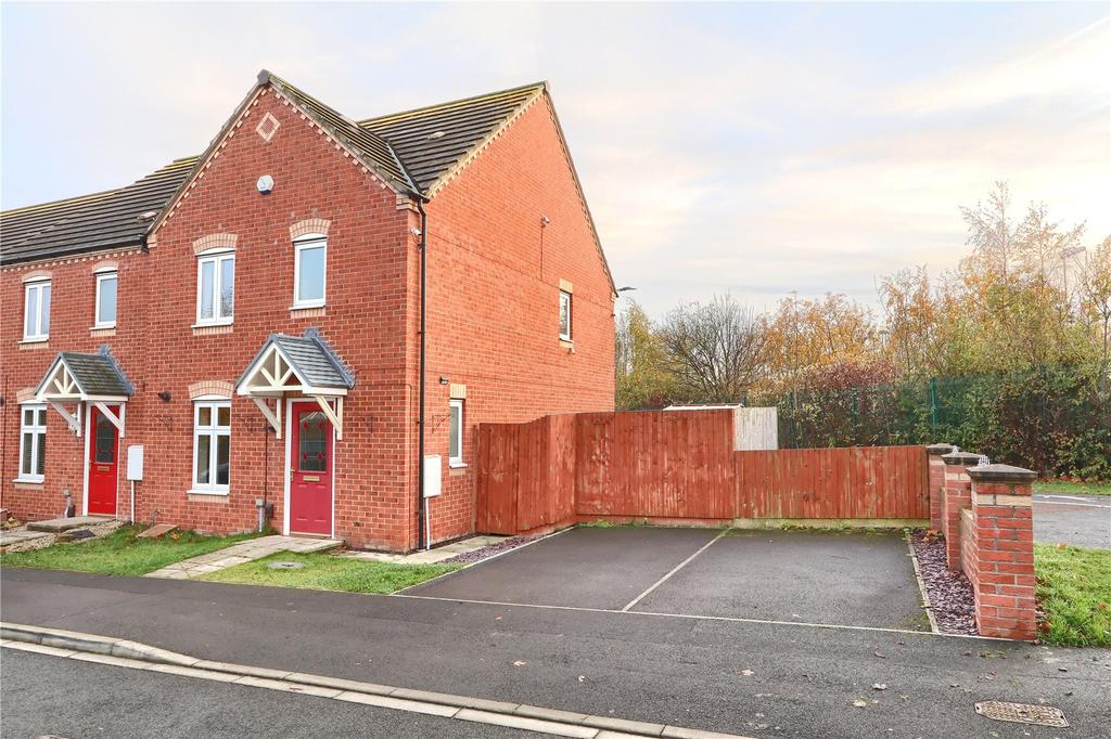 3 Bedrooms End Of Terrace House for sale in Harvington Chase, Coulby Newham