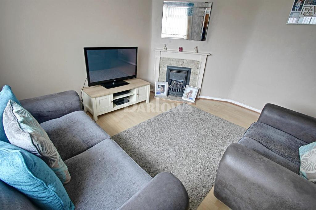 2 Bedrooms End Of Terrace House for sale in St Annes Crescent, Bargoed, Caerphilly