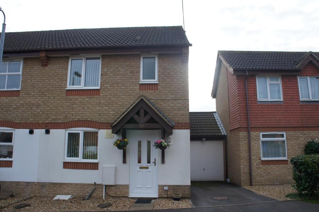 3 Bedrooms Semi Detached House for sale in Gadsden Close, Cranfield, Bedfordshire
