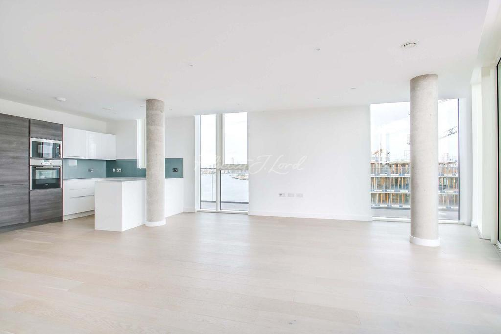 2 Bedrooms Flat for sale in Wyndham apartments, The River Gardens, London,SE10