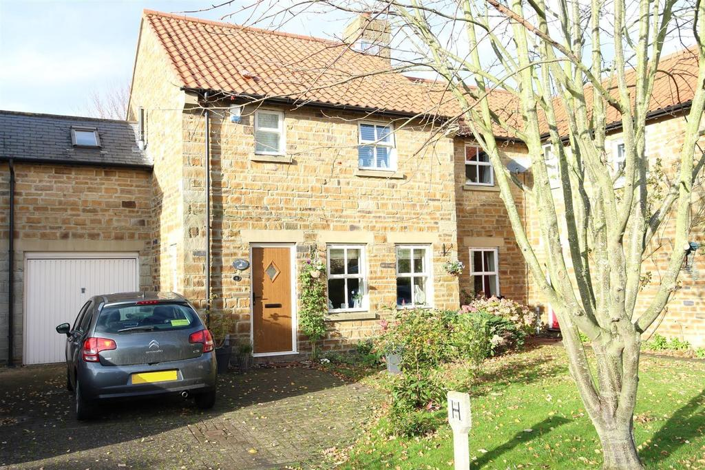 3 Bedrooms Terraced House for sale in Glebe Court, Melsonby, Richmond