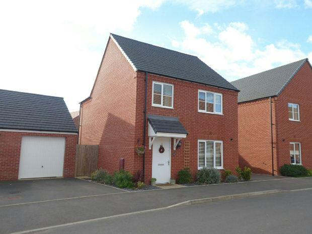 4 Bedrooms Detached House for sale in Linnet Road, Bodicote