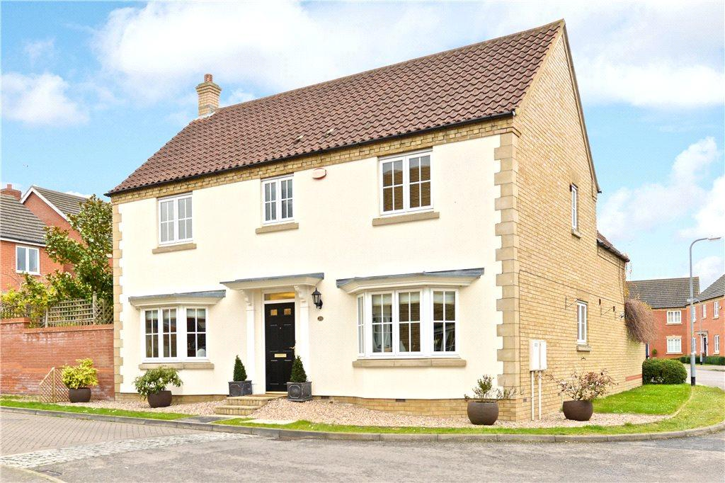 4 Bedrooms Detached House for sale in Briarwood Way, Wollaston, Northamptonshire