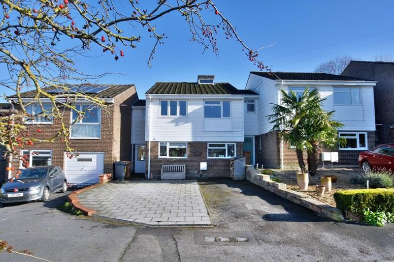 4 Bedrooms Link Detached House for sale in Springfield Close, Andover