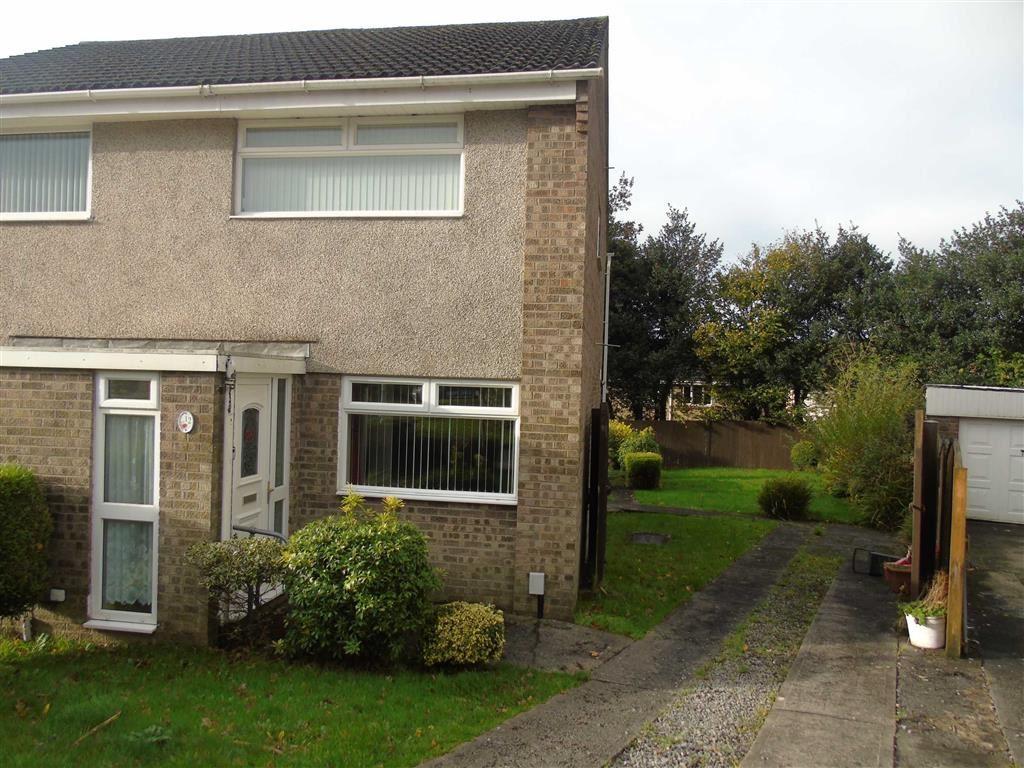 2 Bedrooms Semi Detached House for sale in Heol Yr Wylan, Parc Gwernfadog, Morriston