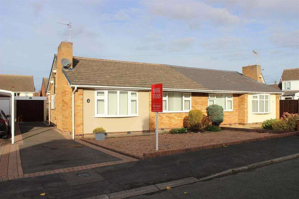 2 Bedrooms Semi Detached Bungalow for sale in Lavender Road, Amington, Tamworth