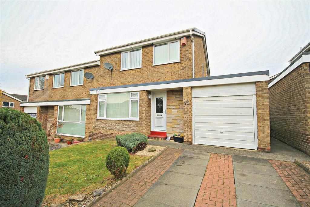 3 Bedrooms Semi Detached House for sale in Wensley Close Ouston, Chester Le Street