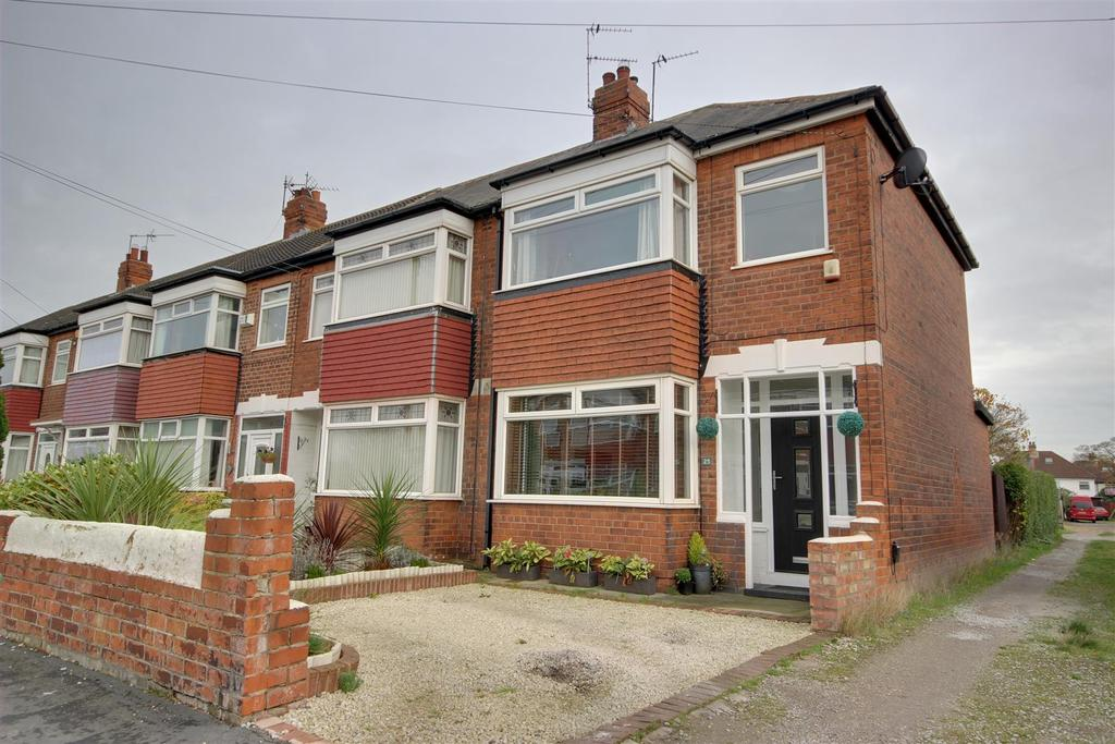 3 Bedrooms End Of Terrace House for sale in Bernadette Avenue, Anlaby