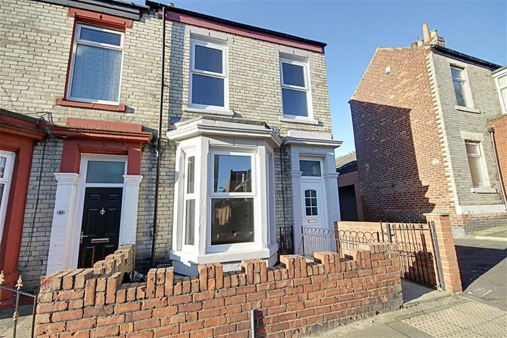 2 Bedrooms End Of Terrace House for sale in Baring Street, South Shields, Tyne And Wear