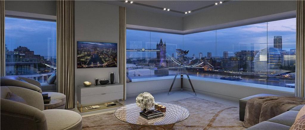 3 Bedrooms Penthouse Flat for sale in Lower Thames Street, London, EC3R