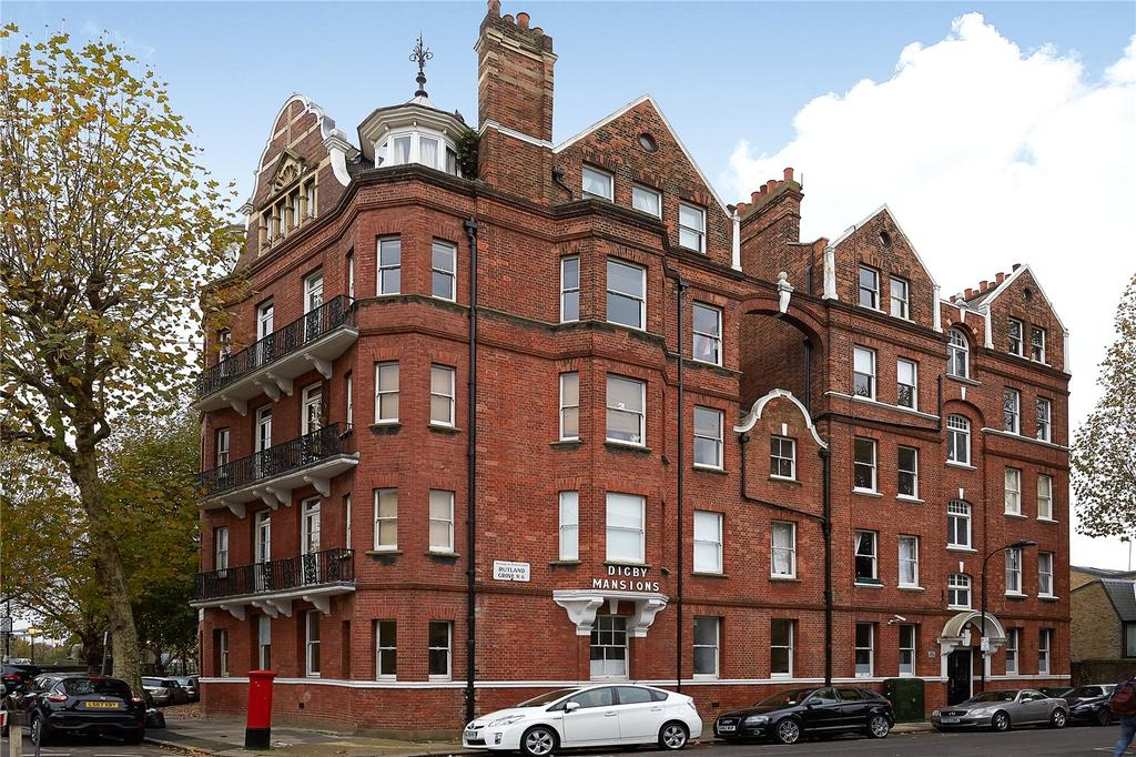 2 Bedrooms Flat for sale in Digby Mansions, Hammersmith Bridge Road, London, W6