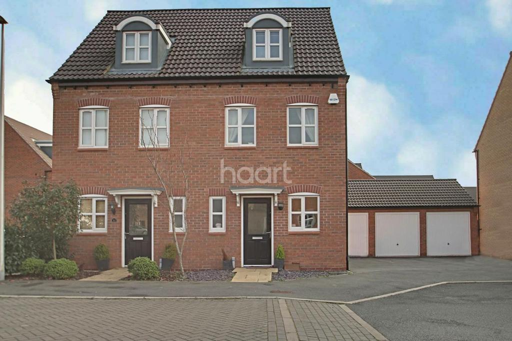 3 Bedrooms Semi Detached House for sale in Ryknield Road, Hucknall