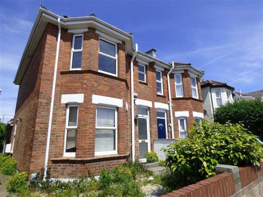 3 Bedrooms Semi Detached House for sale in Stewart Road, Charminster, Bournemouth, Dorset, BH8