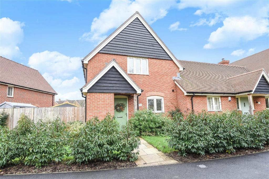 3 Bedrooms End Of Terrace House for sale in Morleys Green, Ampfield, Romsey, Hampshire
