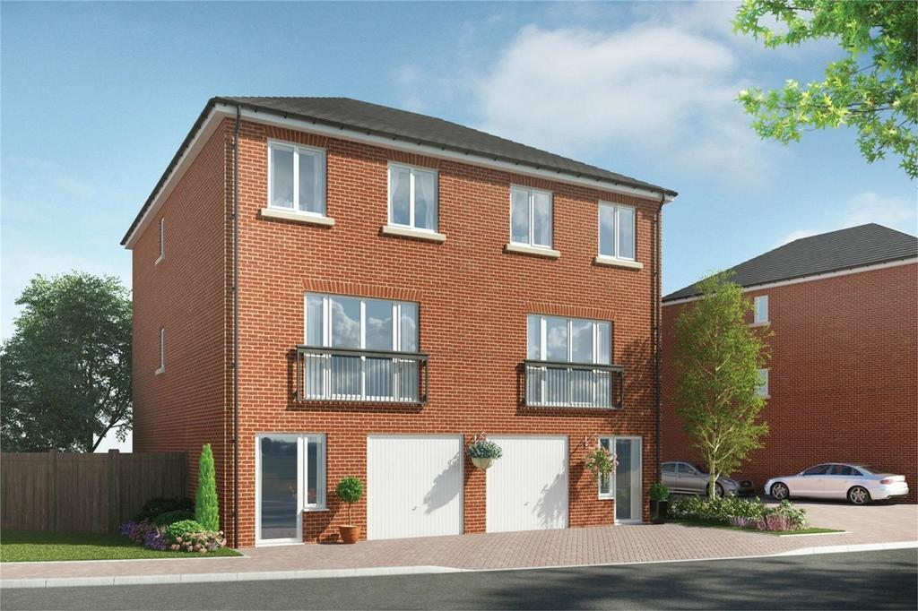 4 Bedrooms End Of Terrace House for sale in The Ferns, Green Lane, Wixams, Bedfordshire