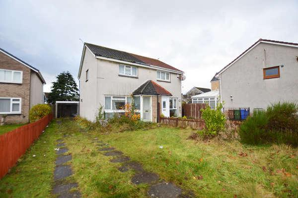 2 Bedrooms Semi-detached Villa House for sale in 85 Deveron Road, Troon, KA10 7EG