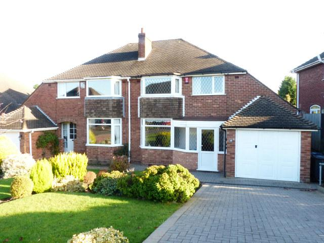 3 Bedrooms Semi Detached House for sale in The Greenway,Sutton Coldfield,West Midlands