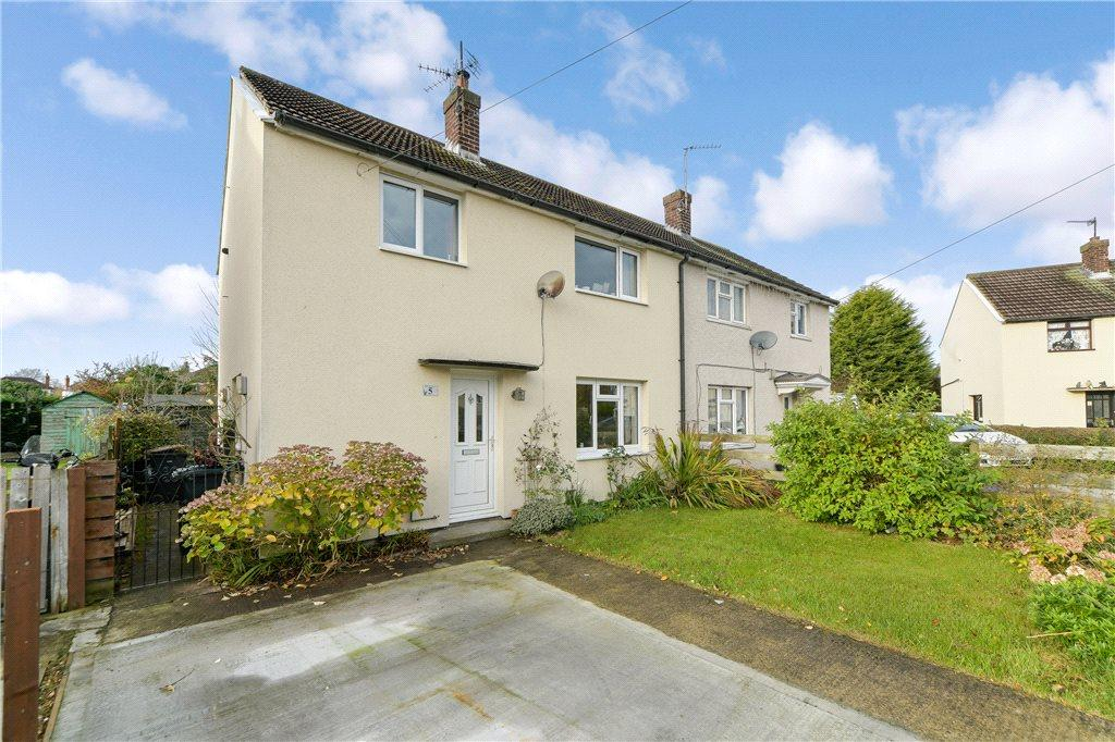 3 Bedrooms Semi Detached House for sale in Kirkham Grove, Harrogate, North Yorkshire